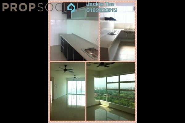 For Rent Apartment at The Zest, Bandar Kinrara Freehold Semi Furnished 3R/2B 1.5k