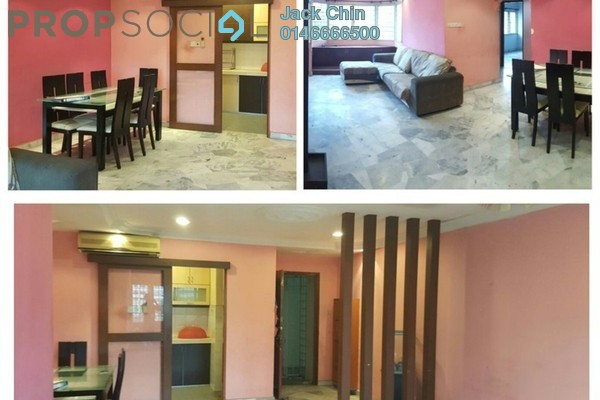 For Rent Condominium at De Tropicana, Kuchai Lama Leasehold Fully Furnished 3R/2B 1.6k