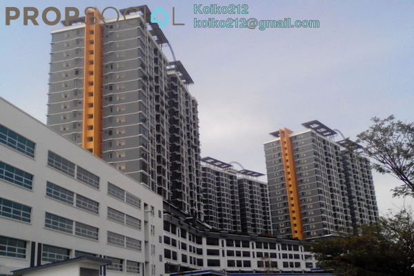 For Rent Condominium at Vista Alam, Shah Alam Leasehold Unfurnished 2R/2B 1.5k