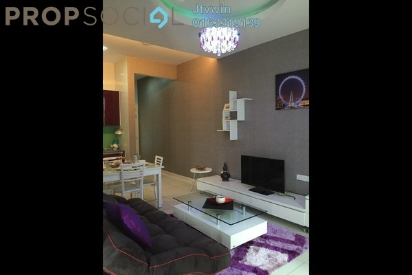 For Rent SoHo/Studio at Vista Alam, Shah Alam Leasehold Semi Furnished 2R/2B 1.6k