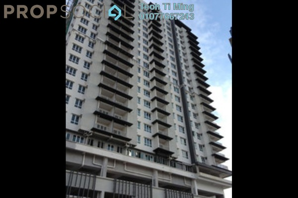 For Rent Condominium at Seri Puteri, Bandar Sri Permaisuri Leasehold Semi Furnished 3R/3B 1.9k
