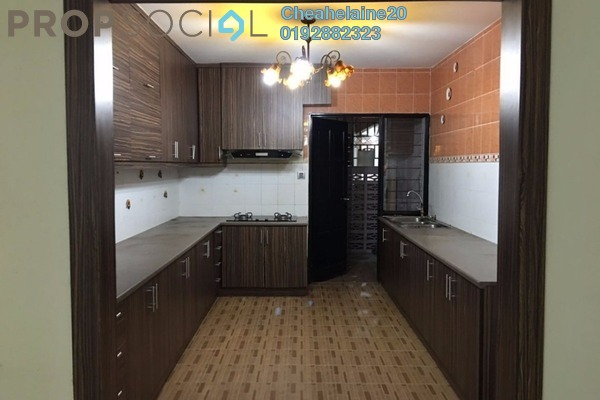 For Rent Condominium at Plaza Metro Prima, Kepong Leasehold Semi Furnished 4R/2B 1.6k
