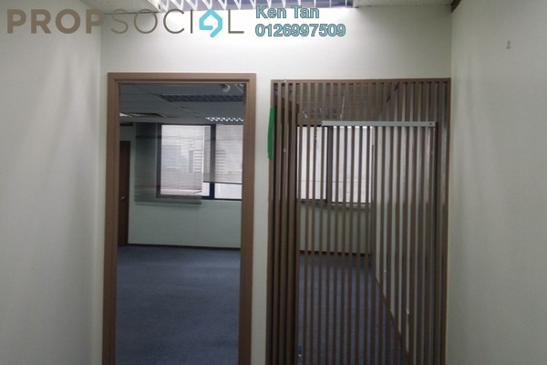 For Rent Office at Wisma UOA II, KLCC Freehold Semi Furnished 0R/0B 3k