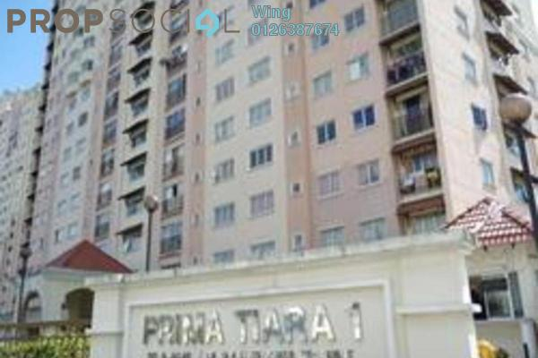 For Rent Apartment at Prima Tiara 2, Segambut Freehold Fully Furnished 3R/2B 1.2k