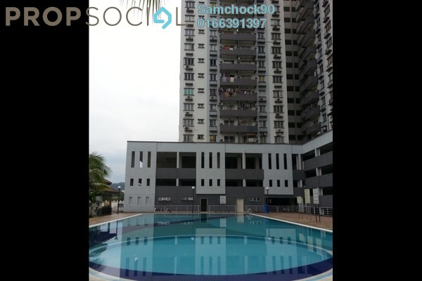 For Sale Condominium at Kinrara Mas, Bukit Jalil Freehold Fully Furnished 3R/2B 440k