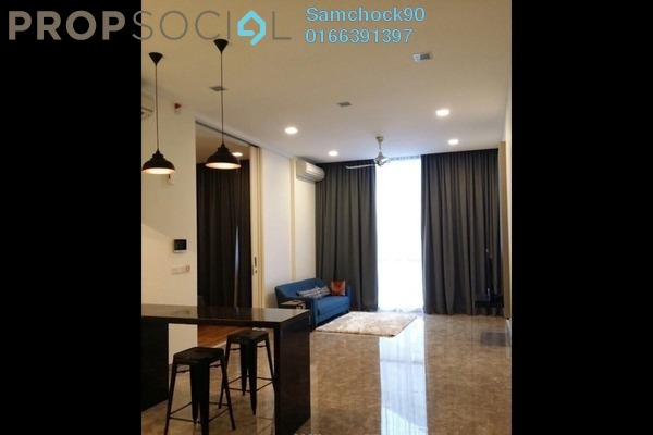 For Rent Condominium at Laman Ceylon, Bukit Ceylon Freehold Fully Furnished 1R/1B 3.5k