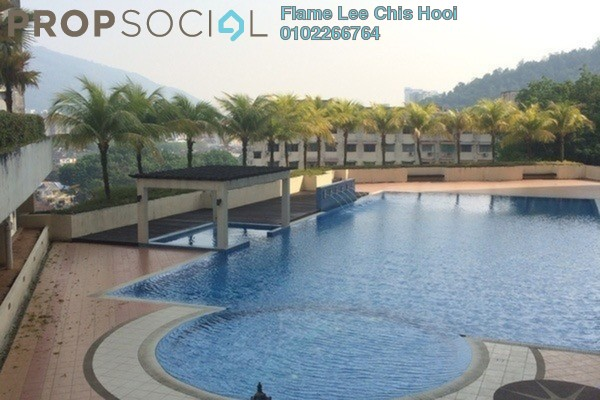 For Sale Apartment at Asia Heights, Farlim Freehold Semi Furnished 3R/2B 388k
