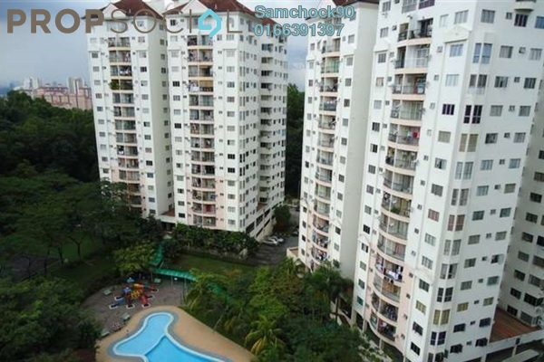For Sale Condominium at Awana Puri, Cheras Freehold Semi Furnished 3R/2B 470k