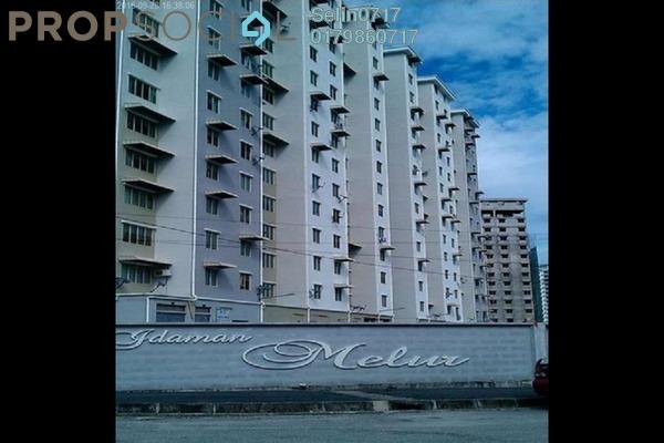 For Sale Condominium at Idaman Melur, Sungai Ara Freehold Semi Furnished 3R/2B 175k