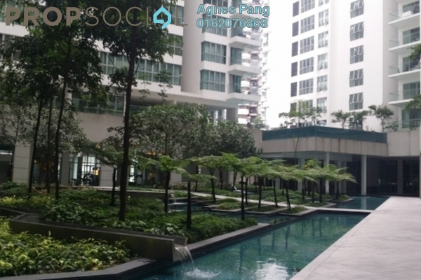 For Sale Condominium at Regalia @ Jalan Sultan Ismail, Kuala Lumpur Freehold Fully Furnished 2R/2B 980k
