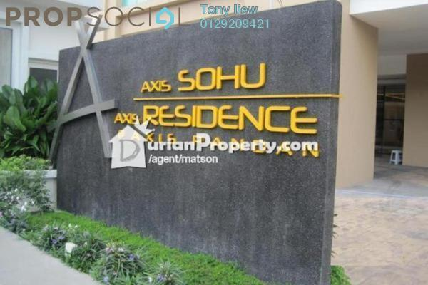 For Sale Serviced Residence at Axis SoHu, Pandan Indah Leasehold Semi Furnished 2R/2B 420k