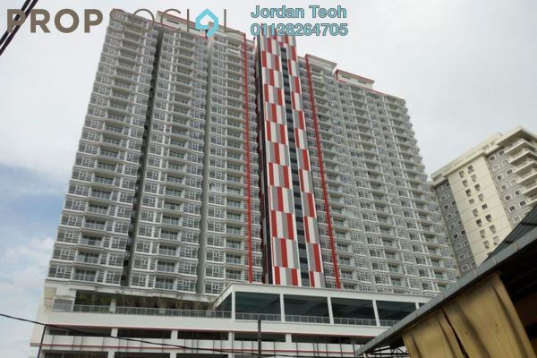 For Rent Condominium at MH Platinum Residency, Setapak Freehold Semi Furnished 2R/2B 1.3k