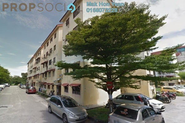 For Sale Apartment at Taman Kinrara, Bandar Kinrara Leasehold Semi Furnished 3R/2B 199k