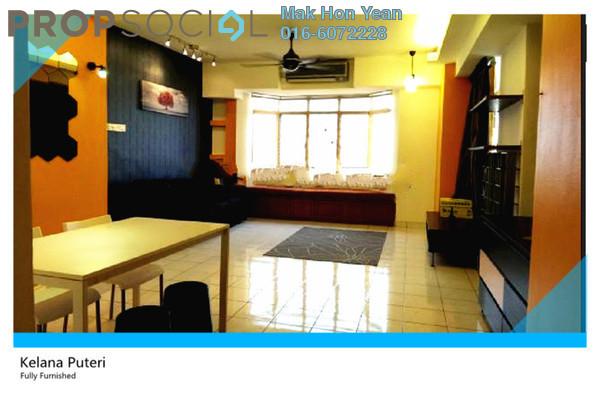 For Sale Condominium at Kelana Puteri, Kelana Jaya Leasehold Fully Furnished 3R/2B 545k