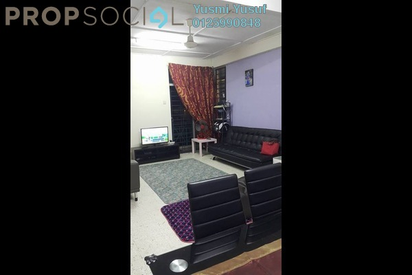For Sale Apartment at Sri Wira Apartment, Ukay Leasehold Semi Furnished 3R/2B 215k