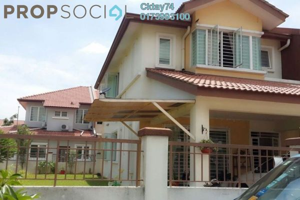 For Sale Terrace at Taman Puchong Prima, Puchong Freehold Fully Furnished 4R/3B 1.38m