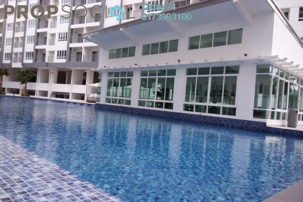 For Sale Condominium at Casa Tropika, Puchong Leasehold Unfurnished 3R/2B 460k