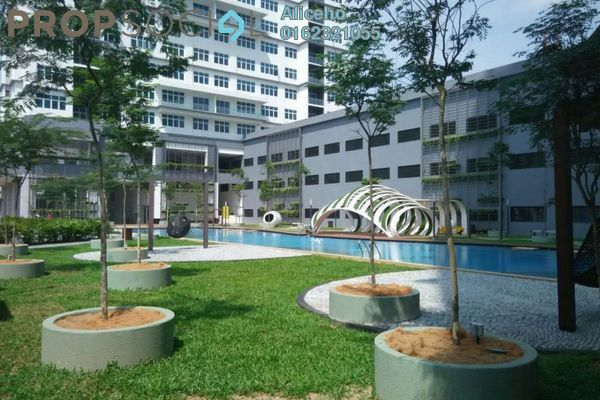 For Sale Condominium at Skypod, Bandar Puchong Jaya Freehold Unfurnished 1R/1B 470k