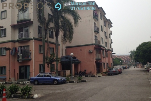 For Sale Apartment at Taman Sri Putra, Sungai Buloh Freehold Unfurnished 3R/2B 180k