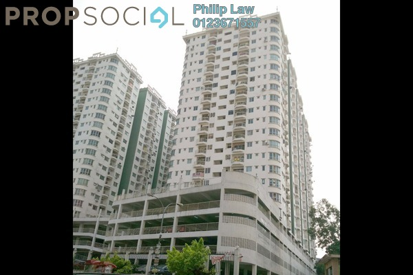 For Sale Condominium at Kepong Central Condominium, Kepong Leasehold Unfurnished 3R/2B 330k