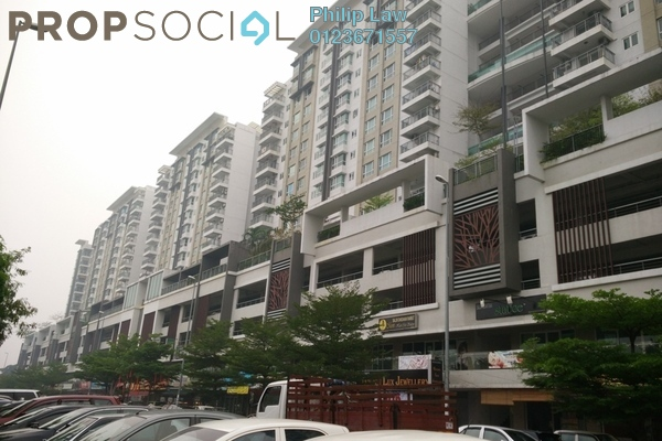For Sale Condominium at First Residence, Kepong Leasehold Semi Furnished 3R/2B 540k