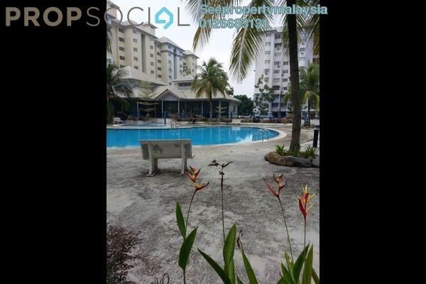 For Sale Condominium at Tasik Heights Apartment, Bandar Tasik Selatan Leasehold Unfurnished 3R/2B 320k