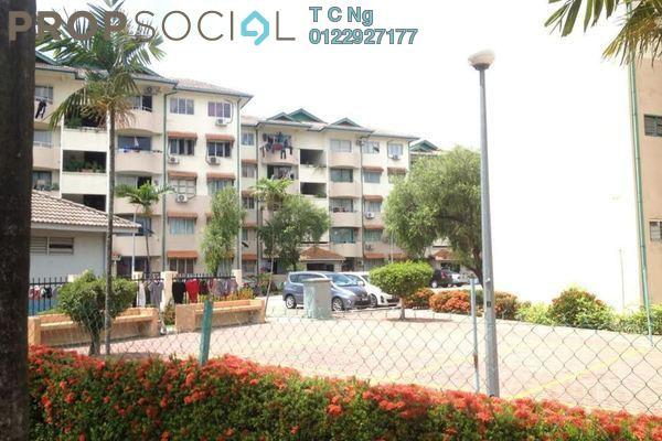 For Sale Apartment at Palm Terrace, Bandar Kinrara Leasehold Unfurnished 3R/2B 208k