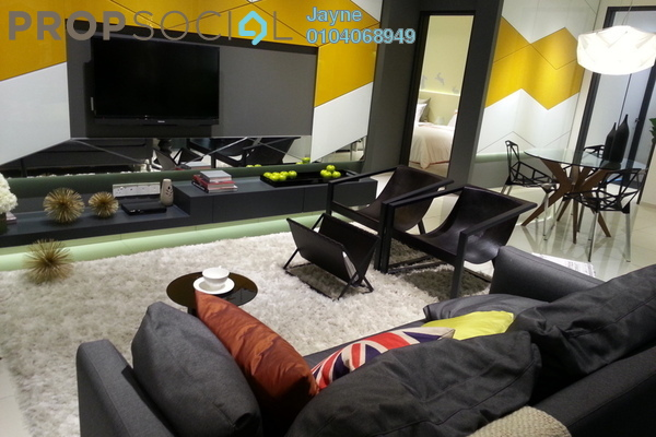 For Sale Serviced Residence at D'Sara Sentral, Sungai Buloh Leasehold Semi Furnished 2R/1B 560k