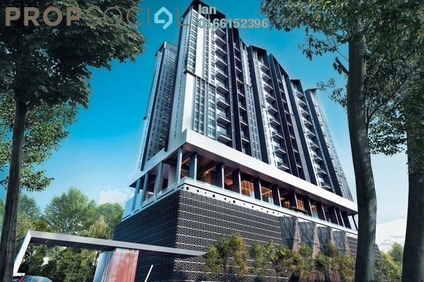 For Sale Condominium at The Andes, Bukit Jalil Freehold Semi Furnished 0R/0B 553k