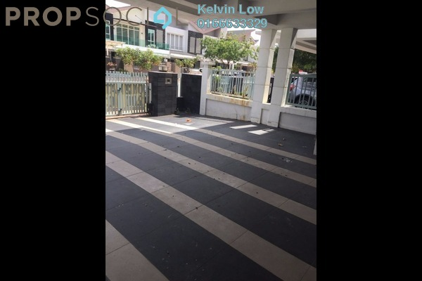 For Sale Terrace at Temasya Suria, Temasya Glenmarie Freehold Semi Furnished 6R/6B 1.9m
