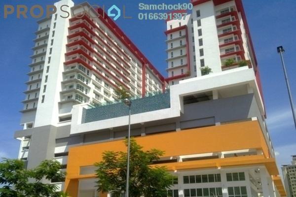 For Sale Condominium at Ritze Perdana 2, Damansara Perdana Leasehold Fully Furnished 0R/1B 360k