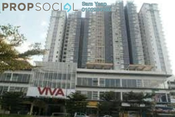 For Rent Condominium at Viva Residency, Sentul Freehold Fully Furnished 3R/2B 2.4k