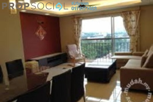 For Rent Condominium at Prima Tiara 2, Segambut Freehold Semi Furnished 3R/2B 1k