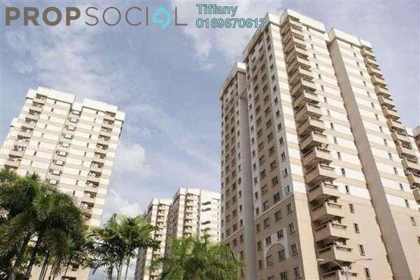 For Rent Apartment at Pelangi Damansara, Bandar Utama Leasehold Semi Furnished 3R/2B 1.1k