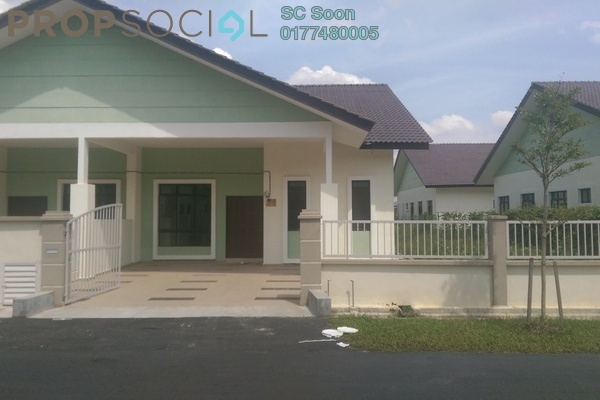 For Sale Semi-Detached at Min Garden, Bandar Putera Indah Leasehold Unfurnished 4R/2B 390k