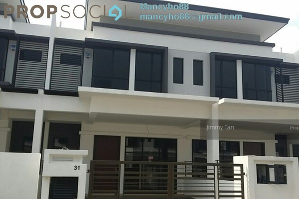 For Sale Terrace at Taman Sri Putra 2, Sungai Buloh Freehold Semi Furnished 4R/3B 600k