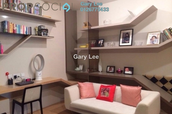 For Sale Condominium at VERVE Suites, Mont Kiara Freehold Fully Furnished 0R/1B 620k