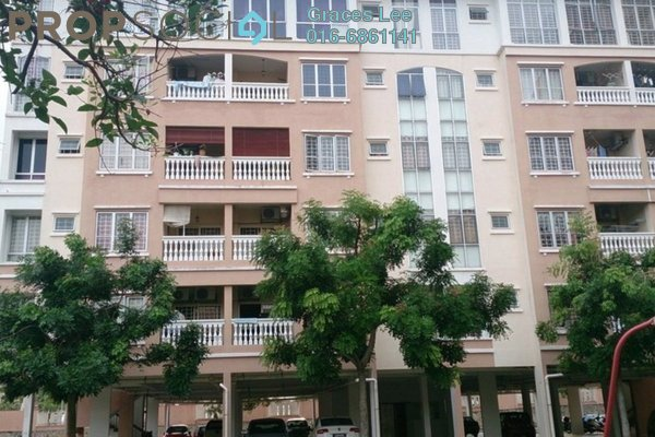 For Sale Condominium at Nilam Puri, Bandar Bukit Puchong Freehold Semi Furnished 3R/2B 402k