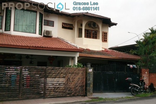 For Sale Terrace at Taman Serdang Jaya, Seri Kembangan Leasehold Semi Furnished 4R/3B 880k