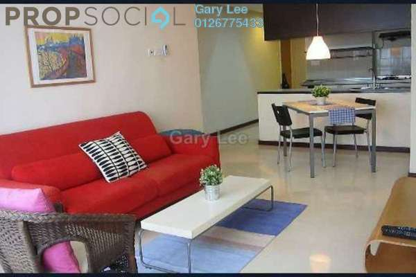 For Rent Condominium at i-Zen Kiara II, Mont Kiara Freehold Fully Furnished 1R/2B 2.7k