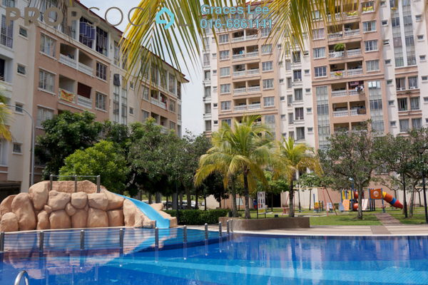 For Sale Condominium at Nilam Puri, Bandar Bukit Puchong Freehold Fully Furnished 3R/2B 450k