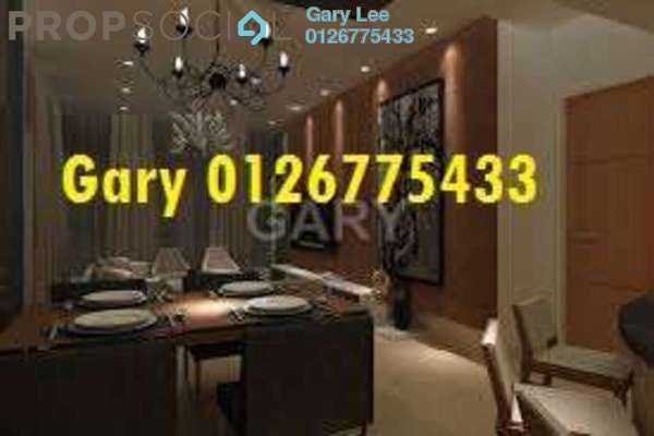 For Rent Condominium at Lumina Kiara, Mont Kiara Freehold Fully Furnished 3R/3B 4.5k