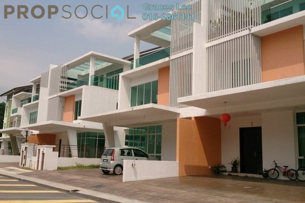 For Sale Terrace at Ambrosia, Kinrara Residence Leasehold Unfurnished 4R/5B 2.01m