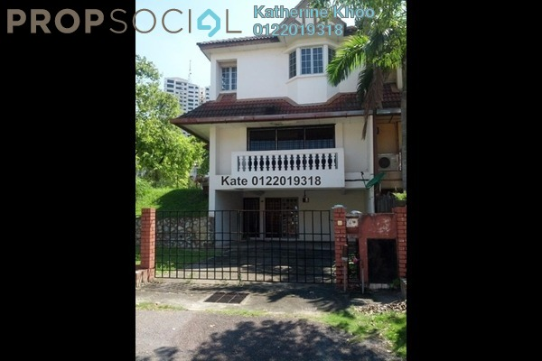 For Sale Terrace at Gasing Indah, Gasing Heights Freehold Semi Furnished 4R/3B 1.65m