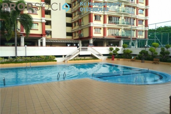 For Sale Condominium at Villa Lagenda, Bukit Mertajam Freehold Fully Furnished 3R/2B 460k