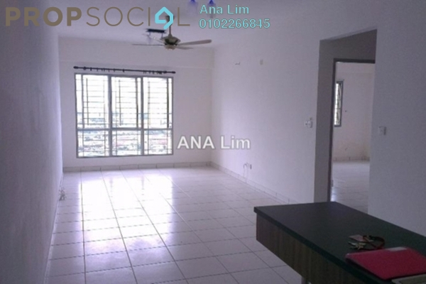 For Rent Condominium at Axis Residence, Pandan Indah Leasehold Semi Furnished 2R/2B 1.5k