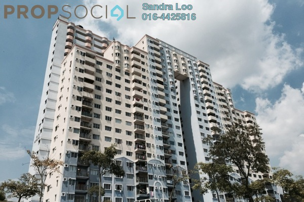For Sale Apartment at Desaminium Rimba, Bandar Putra Permai Leasehold Semi Furnished 3R/2B 295k