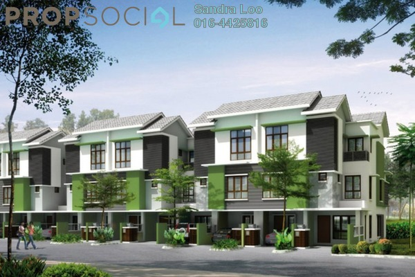 For Sale Townhouse at Park Villa, Bandar Bukit Puchong Freehold Fully Furnished 3R/2B 650k