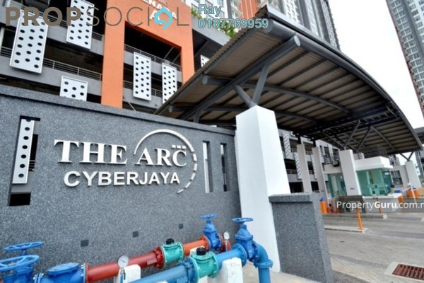 For Rent Condominium at The Arc, Cyberjaya Freehold Semi Furnished 4R/2B 1.6k