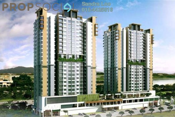 For Sale Condominium at Parc @ One South, Seri Kembangan Leasehold Unfurnished 3R/2B 498k